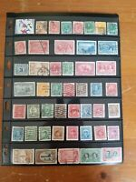 British Colonies - Canada - Stamp Collection - Used/Classics - 2 Scans - W64