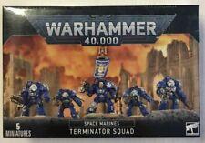 Terminator Squad Space Marines 40K Warhammer Sealed