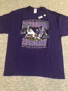 Baltimore Ravens Superbowl 2013 Purple XL T-Shirt Harbowl Ray Rice Torrey Smith