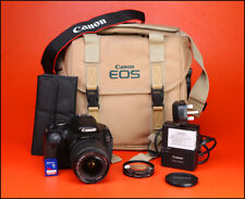 Canon EOS 600D DSLR Camera + EF-S 18-55mm Zoom Lens Kit - with Battery & Charger