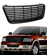 2003-2006 FORD EXPEDITION BLACK HORIZONTAL FRONT HOOD BUMPER GRILL GRILLE COVER
