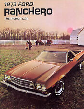 1973 Ford Ranchero Sales Brochure GT/Squire/500+++