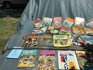 Vintage comics 70s 80s  freak rip off psychedelic  GratefulDead book 11hightimes