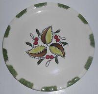 Blue Ridge Pottery China Wild Cherry Dinner Plate