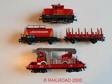 """Märklin - Diesellok Henschel EA 500 """"Feuerwehr"""" + Wagenset aus 29752, NEU"""