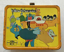THE BEATLES  YELLOW SUBMARINE  LUNCH BOX  KING SEELEY  1968