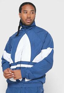 adidas Originals Big Trefoil Track Jacket Night Marine White Sportswear