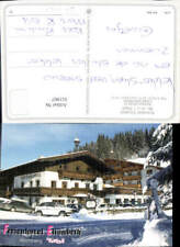 611907,Kirchberg Tirol Ferienhotel Elisabeth Winteransicht VW Golf 1 Cabrio