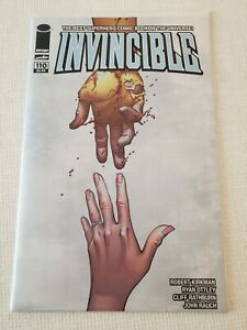 INVINCIBLE #110 HOT BOOK MUST HAVE! ☆ CONTROVERSIAL RAPE ISSUE! 🔥 HIGH NM COPY