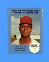 1968 ATLANTIC OIL VADA PINSON   ( PLAY BALL BACK ) EX