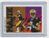 1991 PACKERS Don Majkowski signed card Upper Deck #91 AUTO AUTOGRAPHED Green Bay