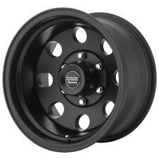 "4-New 17"" Inch 17x9 AR172 Baja 8x165.1(8x6.5"") -12mm Satin Black Wheels Rims"