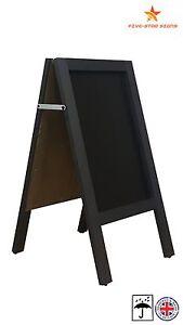 BLACK - A BOARD - PAVEMENT BOARD - CHALKBOARD - PAVEMENT SIGN