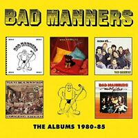Bad Manners - The Albums 1980-85: 5CD Clamshell Boxset [CD]