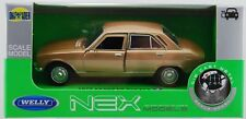 WELLY 1975 PEUGEOT 504 GOLD 1:34 DIE CAST METAL MODEL NEW IN BOX