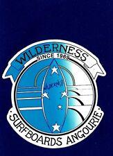 WILDERNESS SURFBOARDS 1960's Manufacturer Sticker Decal LONGBOARD Surfing