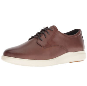 Men Cole Haan Grand Plus Essex Wedge Oxford Coffee/Ivory Shoes Sneakers C28728