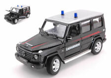 Mercedes G-class Carabinieri 1:24 Model 39312 WELLY