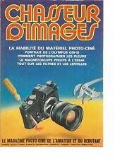 CHASSEUR D'IMAGES N°14 TECHNIQUE DE LA PHOTO-CINE / LE FLOU VOLONTAIRE EN PHOTO