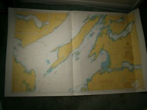 Vintage Admiralty Chart 2378 SCOTLAND - LOCH LINNHE - SOUTHERN PART 1981 edn