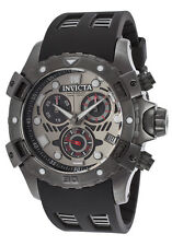 New Invicta 18861 Gunmetal Grey Dial Military Swiss Chronograph Sport Watch