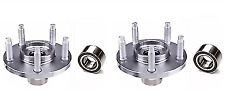2 FRONT WHEEL HUB & 2 BEARING FOR 2007-2010 FORD LINCOLN MKX FAST FREE  SHIPPING