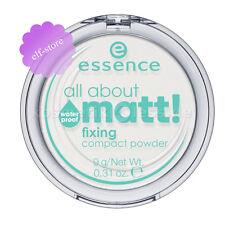Essence ALL ABOUT MATT Fixing Compact Face Powder waterproof Translucent Matte