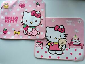 1x Girls Kid Children Hello Kitty Pink Soft Computer Laptops Mouse Pads Support