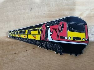 Network Rail Class 43 (HST) Enamel Brooch Pin Badge