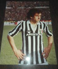 JUVENTUS SCUDETTO 1982 - 1983  FOTO ORIGINALE PLATINI