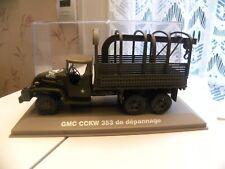Voiture Miniature Militaire 1/43 GMC CCKW 353 de dépannage