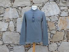 FRED PERRY.  Long Sleeve Three Button Shirt.  100% Cotton.  BNWT.  Size 36.