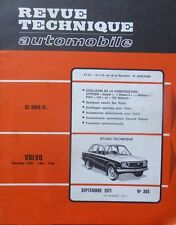 NEUF DE STOCK !! Revue technique VOLVO 142 144 145 RTA 305 1971 DYANE MEHARI 124