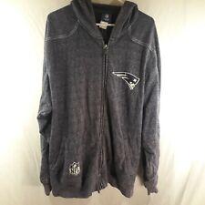 Reebok Men's XL Dark Blue Zip-Up Jacket New England Patriots