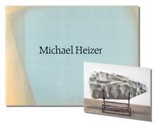 MICHAEL HEIZER Exhibition Catalogue Waddington Galleries 1990 Concrete Sculpture