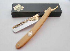 PUMA GOLD Solingen Rasiermesser RARE Straight Razor 6/8 Top Class ShaverNavalha!
