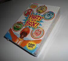 Yo Gabba Gabba Party in a Box (3 DVD Box Set NEW) Live Nickelodeon Music Kids