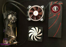 Asus Radeon R9 290 Graphic Card with Arctic Accelero Water Cooler And Aigo RGB F