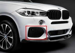 GENUINE OEM BMW X5 F15 Front Bumper Closed M Grille Right 51118064636