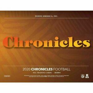 NEW ENGLAND PATRIOTS 2020 PANINI CHRONICLES FOOTBALL 1/3 CASE 4 BOX TEAM BREAK 5