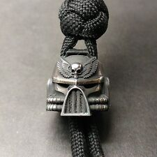 """Collectible Solid Bead """"Warhammer WH40K"""" Knife Paracord Lanyard ,Handmade"""