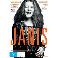 JANIS:Little Girl Blue-DVD-Janis Joplin-Region 4-New AND Sealed