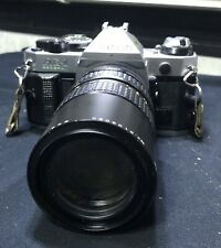 Vintage Canon AE-1 Program Camera with 80-200mm  Lens Please See Photos!
