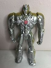 Transformers Optimus Prime Europe Silver Knight Exclusive 12 Inch Action Figure