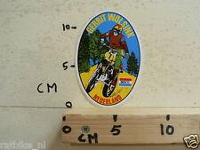 STICKER,DECAL GERRIT WOLSINK MAICO NO1 GRANDPRIX MOTOCROSS MX