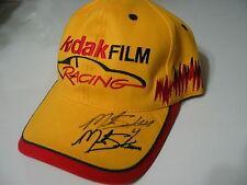 Kodak Racing BASEBALL Cap Mike Skinner Nascar Race Car Driver autograph #4