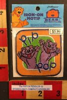 Pip & Pop Iron On Motif Patch Jim Henson Bear In The Big Blue House Muppets 008