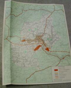 Landesvermessungsamt Nordrhein-Westfalen Land-KARTE 1 : 50 000 Hückeswagen 1975