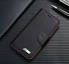 iPhone BMW M Phone Case Flip Stand Wallet Cover Leather UK