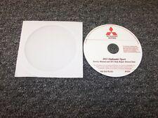 2011 Mitsubishi Outlander Sport Shop Service Repair Manual DVD ES SE 2.0L